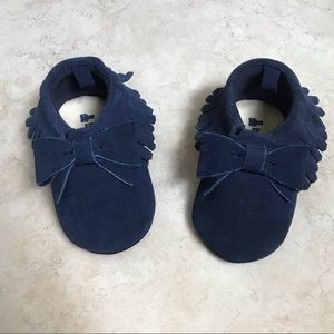 Baby Gap Moccasins size 12-18 months